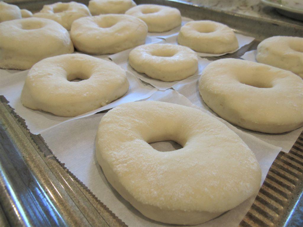 pre-fried donut rings