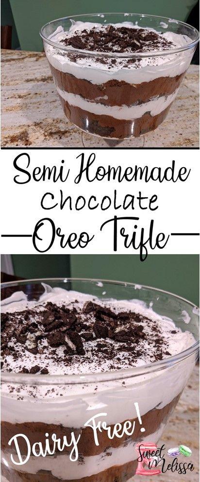 chocolate oreo trifle