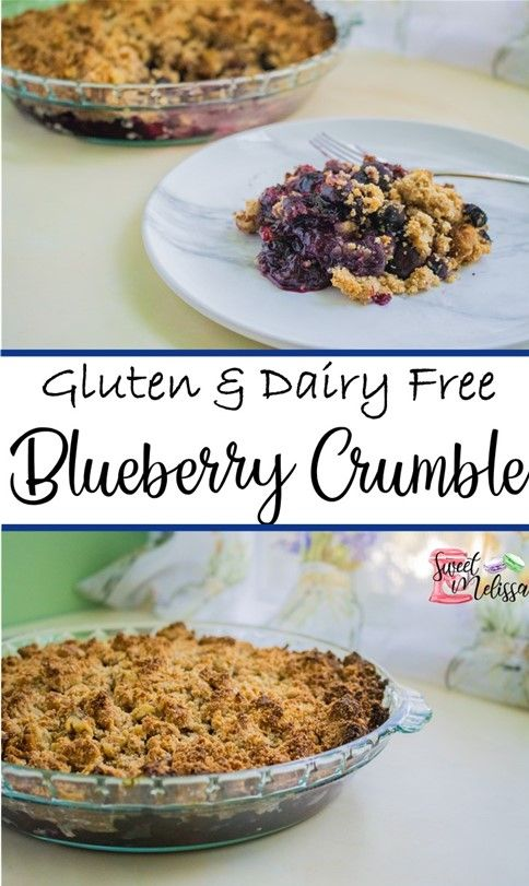 blueberry crumble pin