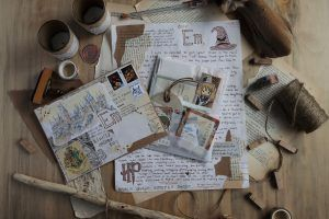Read more about the article Fandom Mail Art: Harry Potter & Avatar the Last Airbender
