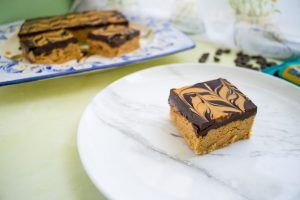 Read more about the article No Bake Peanut Butter Bars — Vegan & Gluten Free