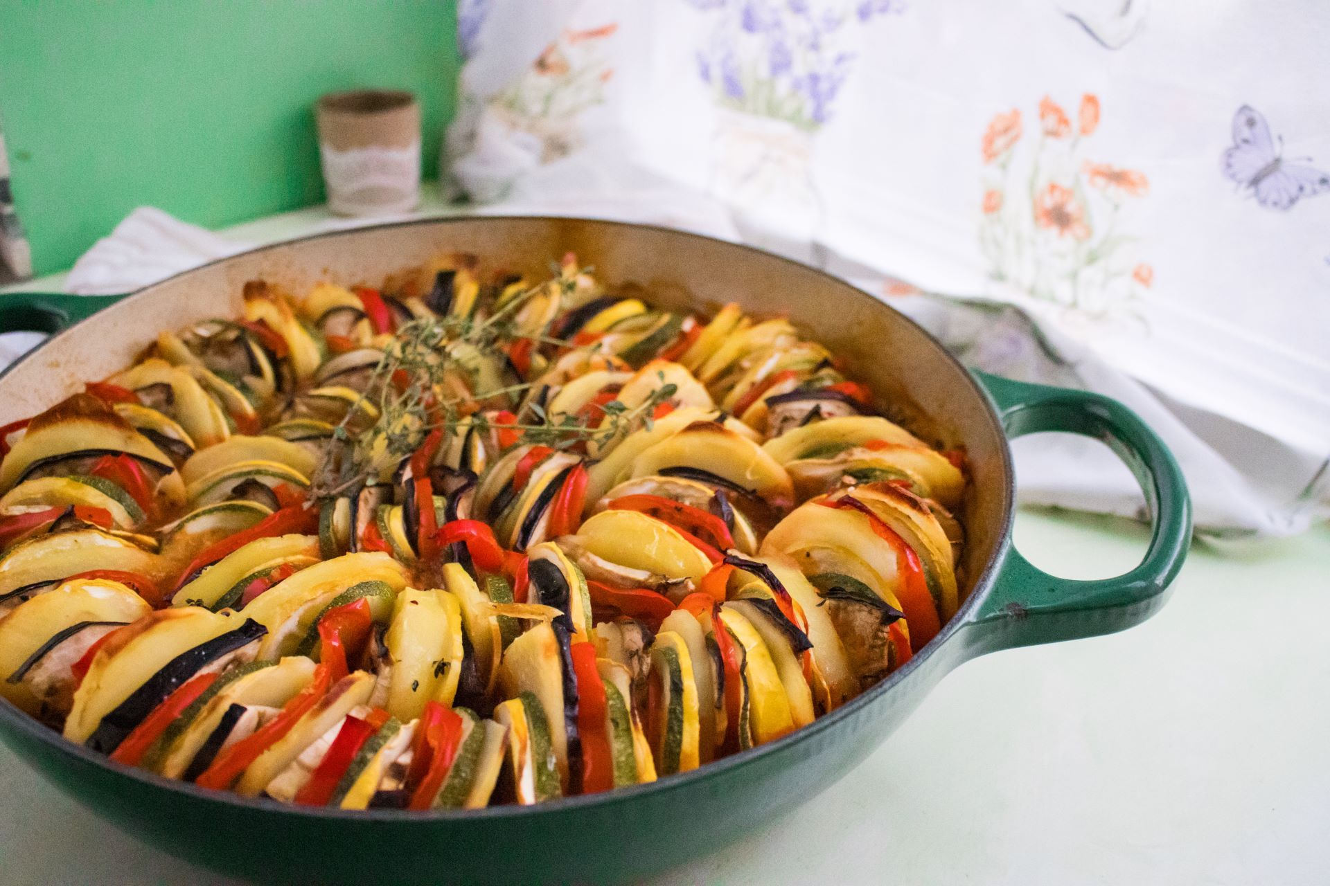 Read more about the article Ratatouille — A Classic Vegetarian Dish