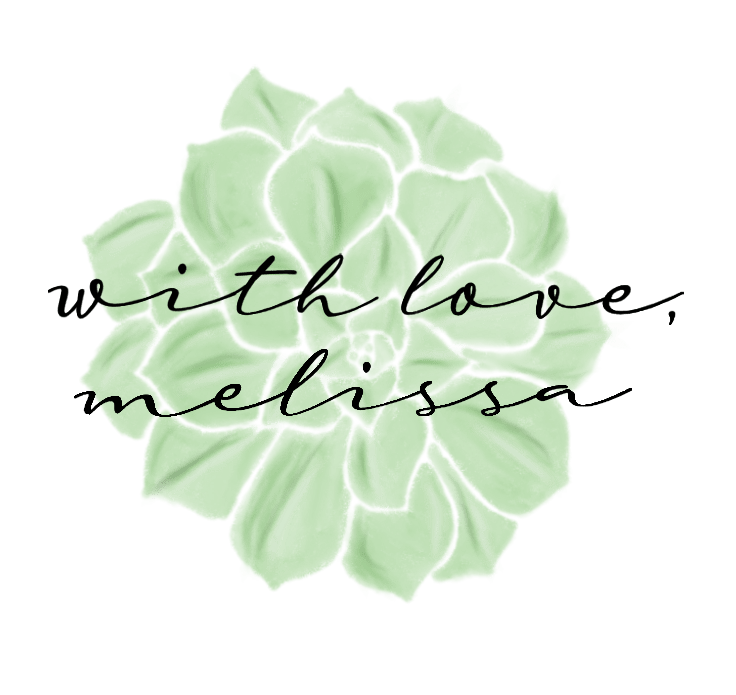with love melissa logo