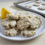 Lemon Coconut Cookies (Vegan!)